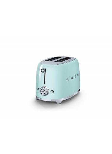 Smeg TSF01PGEU Linea 50's Retro Style Yeşil İkili Ekmek Kızartma Makinesi Yeşil